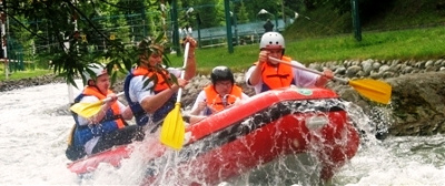 Rafting - Extreme Sports Adventure Sky
